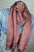 Палантин шарф в стиле Gucci (Гуччи)