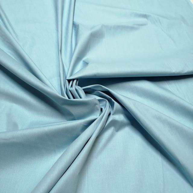 ткань бязь голд премиум голубой для постельного белья и домашнего текстиля