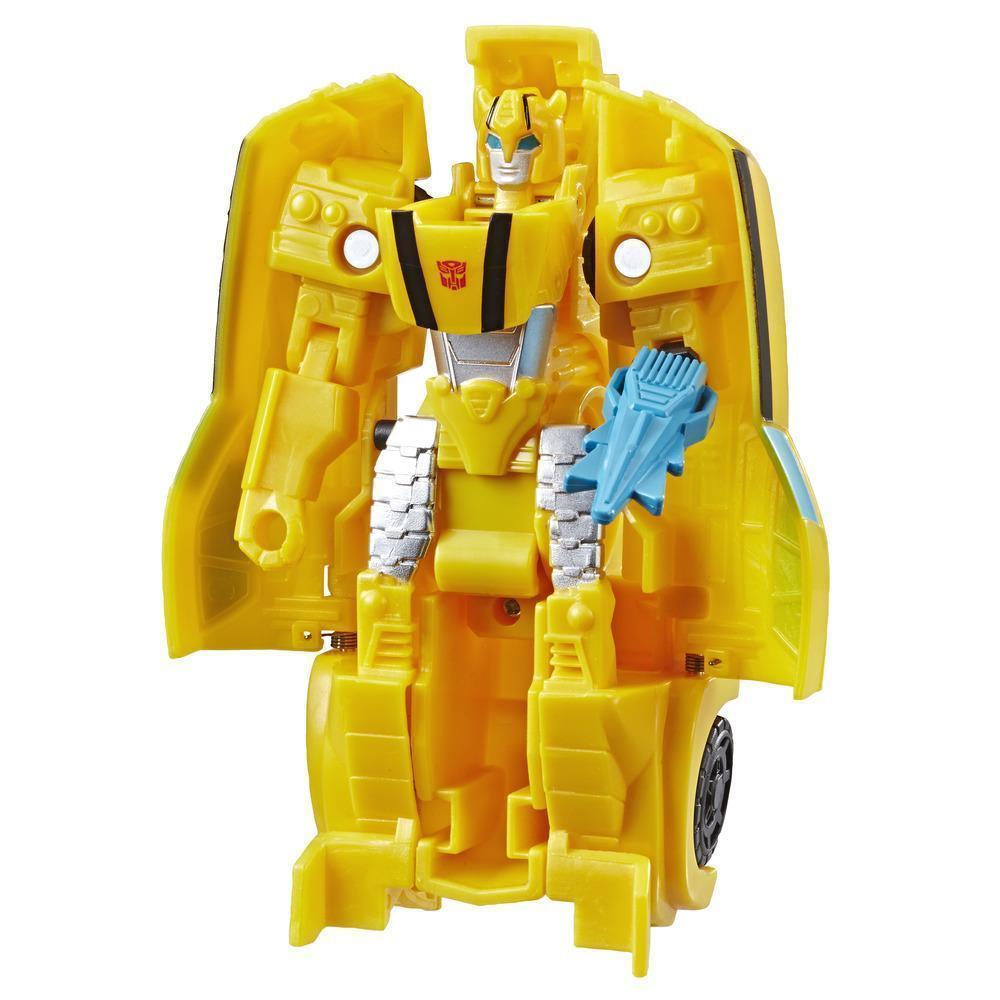 Трансформер Hasbro Transformers Кибервселенная Бамблбі (E3522-E3642)