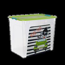 Контейнеры для хранения игрушек Smart box с декором 40 л