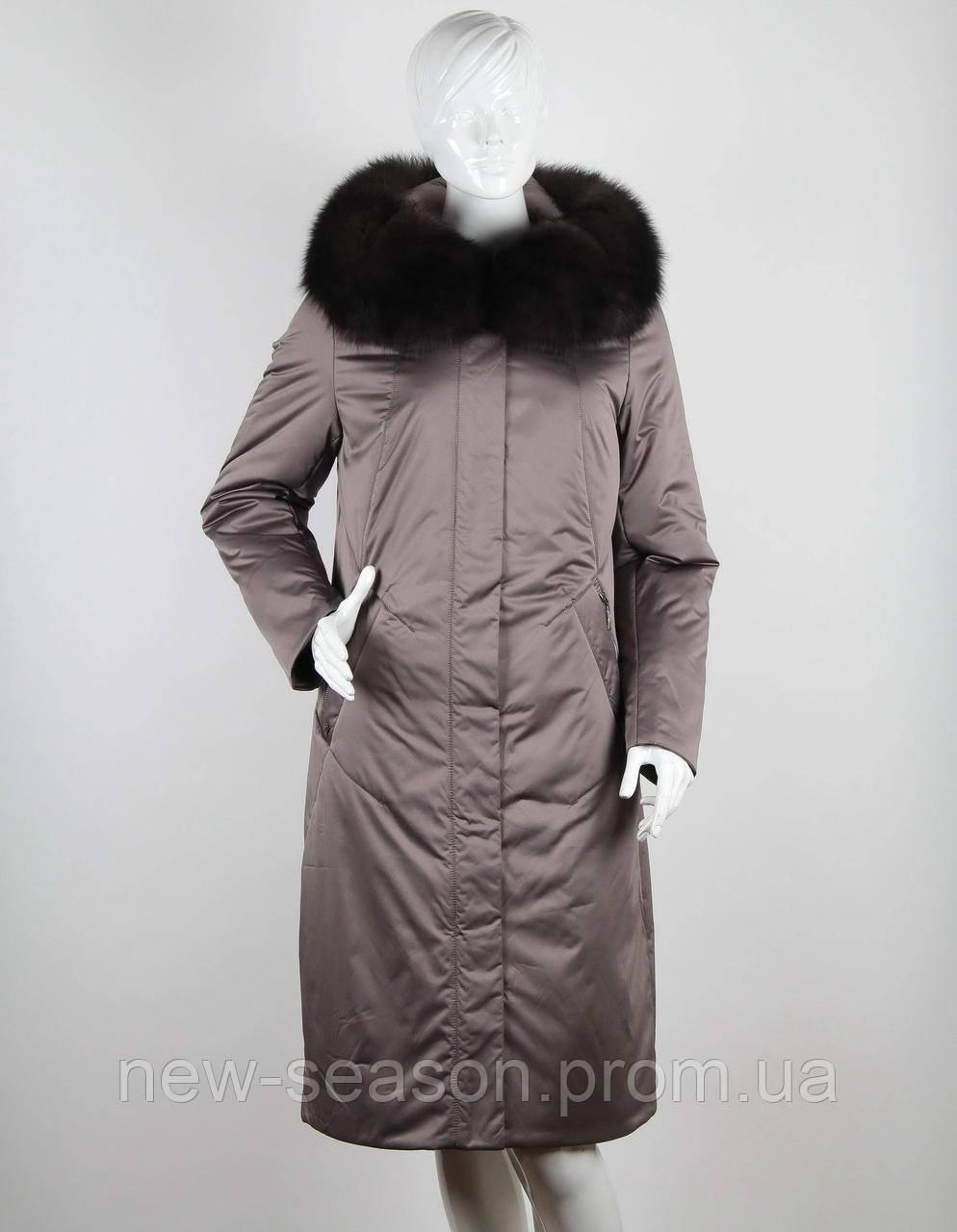 Пальто Klasika Moda на верблюжьей шерсти 1989-5-L капучино