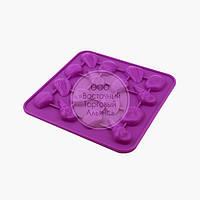 Силиконовая форма для шоколада - Ракушки №1 - 16 ячеек, фото 1