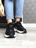 """Кроссовки Nike M2K TEKNO """"Черные / Белые"""", фото 2"""