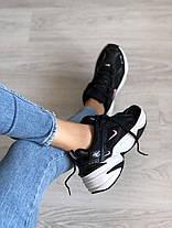 """Кроссовки Nike M2K TEKNO """"Черные / Белые"""", фото 3"""