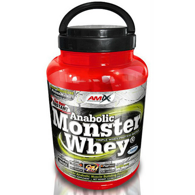 Протеин сывороточный Anabolic Monster Whey (1 kg) AMIX