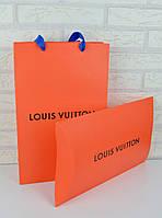 Подарочная упаковка в стиле Louis Vuitton (конверт и пакет)