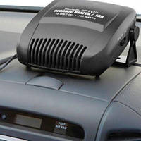 Тепловентилятор автомобільний 24V 150W Cartoy 112 YF обігрів/охолодження/фен на підставці