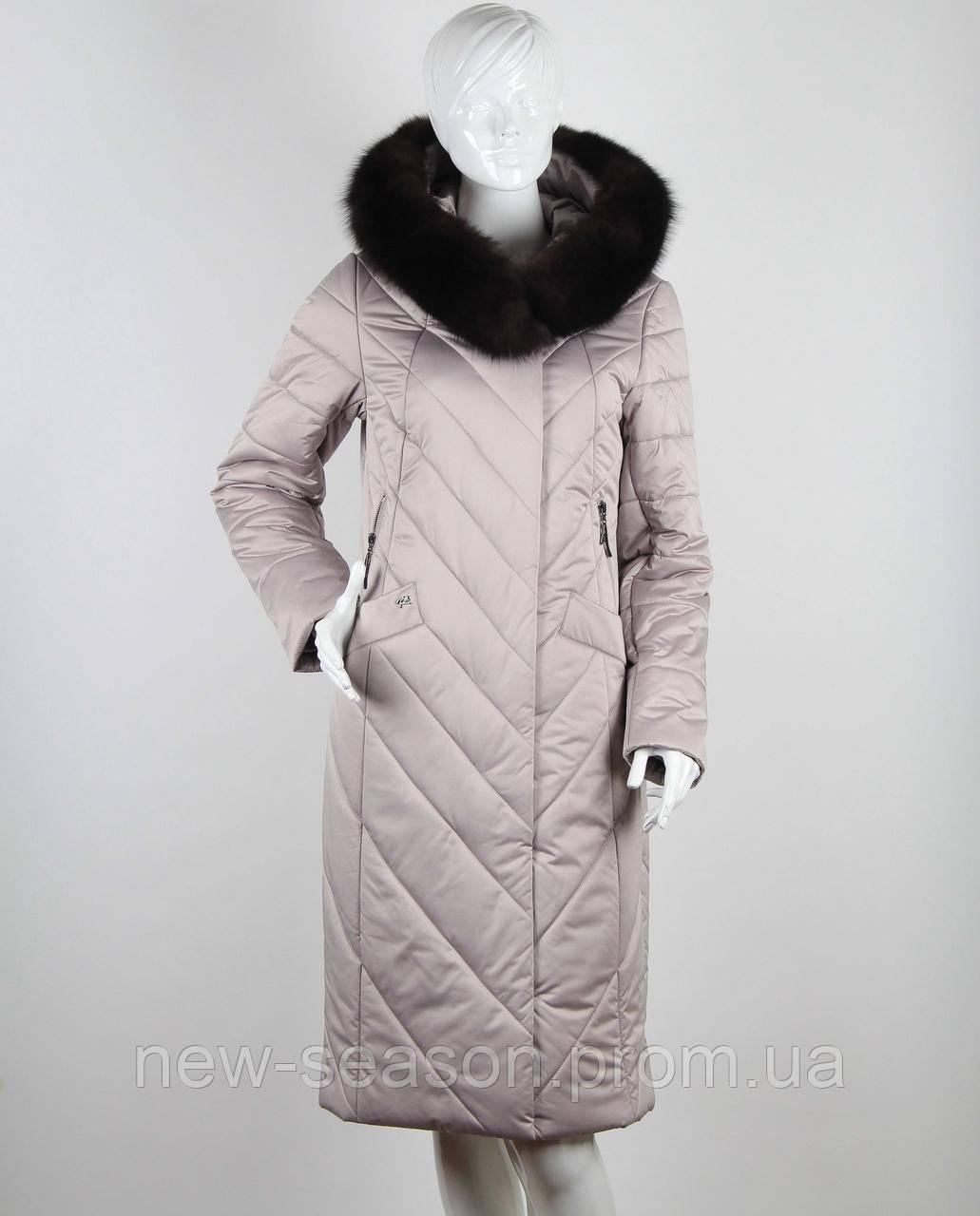 Пальто Klasika Moda на верблюжьей шерсти 1992-5-L бежевый
