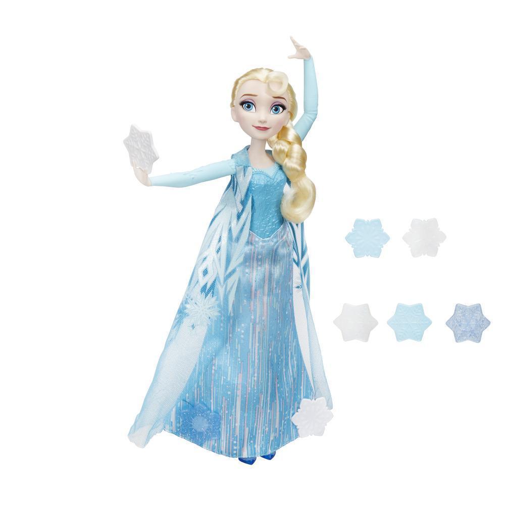 Кукла Hasbro Frozen Эльза запускающая снежинки рукой (B9204)