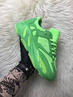 Кроссовки Адидас / Adidas Yeezy Boost 700 Green Neon