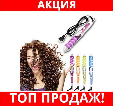 SALE! Плойка для волос Nova NHC 8558 спираль, фото 2