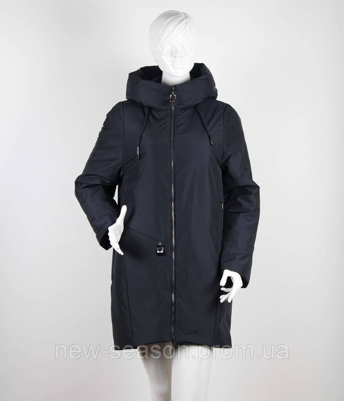 Пальто Klasika Moda на верблюжьей шерсти 1970-N темно-синий