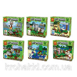 "Конструктор для мальчиков Lele 33040 ""My World"" (Аналог LEGO Minecraft), 390 деталей, цена за 1 шт, фото 2"