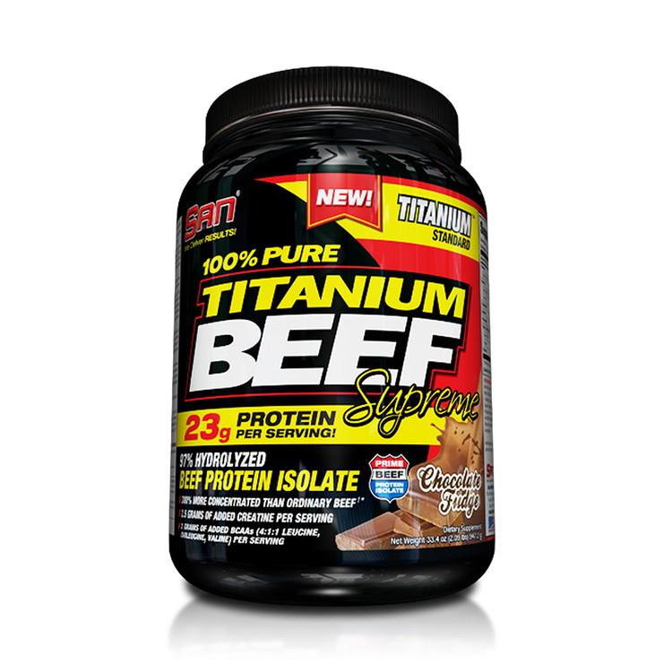 Протеин Pure Titanium Beef Supreme (947 g) 100% SAN