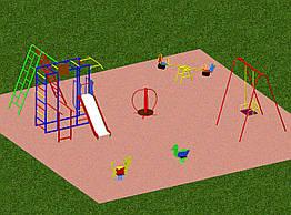 Площадка детская игровая 2