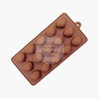 Силіконова форма для шоколаду - Черепашки №3 - 15 осередків