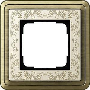 Gira 0211663 Рамка установочная 1 пост Gira ClassiX Art бронза кремовый