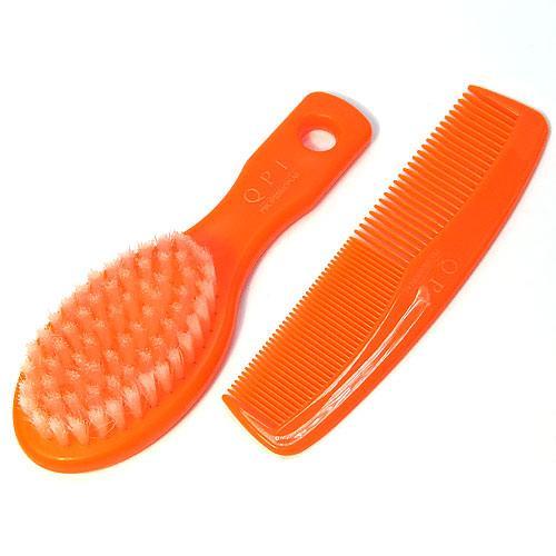 Детский Набор гребешок+щетка РМ-2382 Оранжевый