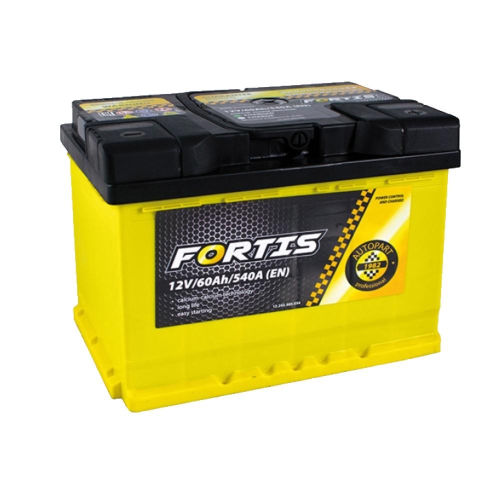 АКБ 6 ст 60 А (540EN) (1) AutoPart FORTIS