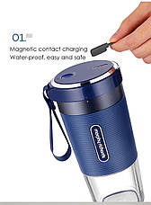Фитнес-блендер Xiaomi Morphy Richards Portable Juice Cup Blue, фото 2
