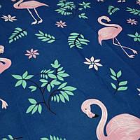 Ткань Бязь Голд Премиум розовый фламинго 220, фото 1