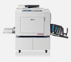Ризограф RISO MF9350, двухцветная печать нового и единственного в мире двухбарабанного ризографа