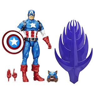 Фігурка Hasbro Капітан Америка, Легенди Марвел 15 см - Build a Figure, Red Skull Series