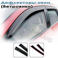 Дефлекторы окон (ветровики) Renault Logan (sedan)(2005-2013), Cobra Tuning