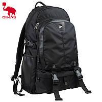 Рюкзак большой городской Oiwas 2901 черный для ноутбука, расцветки