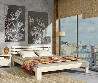Дерев'яне ліжко Новара сосна 180х200