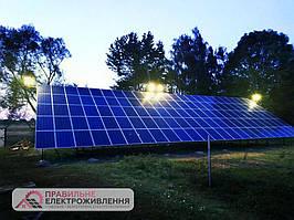 Мережева СЕС 30 кВт у с. Журавники  2