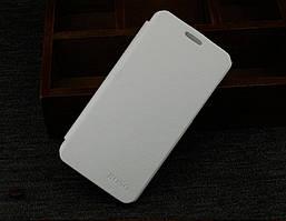 Чехол книжка для Lenovo S850 BOSO цвет Белый