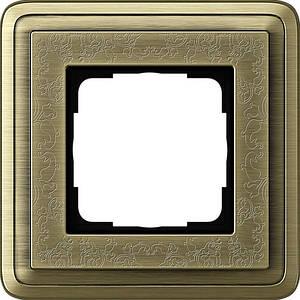 Gira 0211661 Рамка установочная 1 пост Gira ClassiX Art бронза