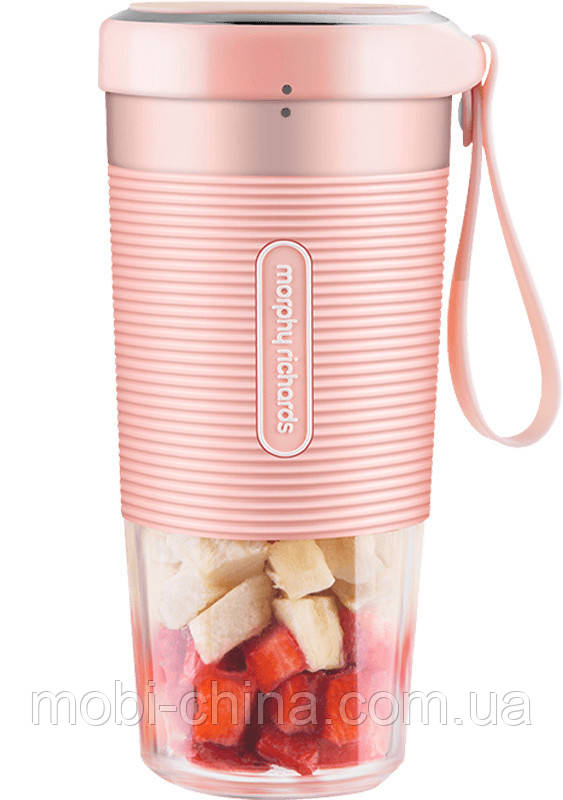 Фитнес-блендер Xiaomi Morphy Richards Portable Juice Cup Pink