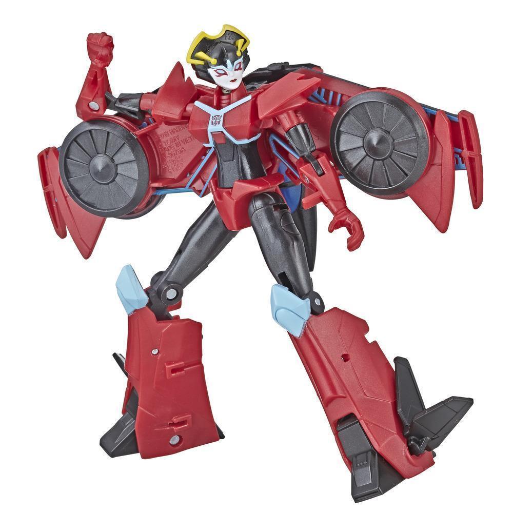 Трансформер Hasbro Transformers Кибервселенная Виндблейд (E1884-E1905)