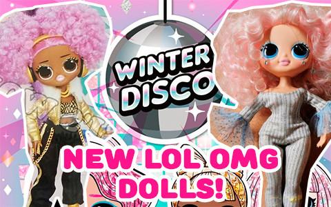 кукла лол winter disco