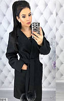 Женское пальто деми (42-48)