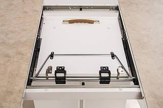 Стол Albury 160/200 раскладной стекло + МДФ бежевый ТМ Concepto, фото 3