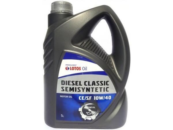 Синтетическое масло LOTOS Classic Diesel  10W-40 5 л