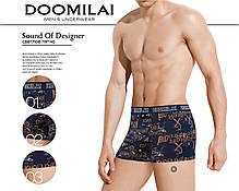 Мужские боксеры стрейчевые из бамбука  Марка  «DOOMILAI» Арт.D-01301, фото 3