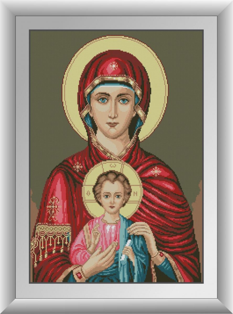 Алмазная живопись Икона Божьей матери Dream Art 30883 (49 x 68 см)