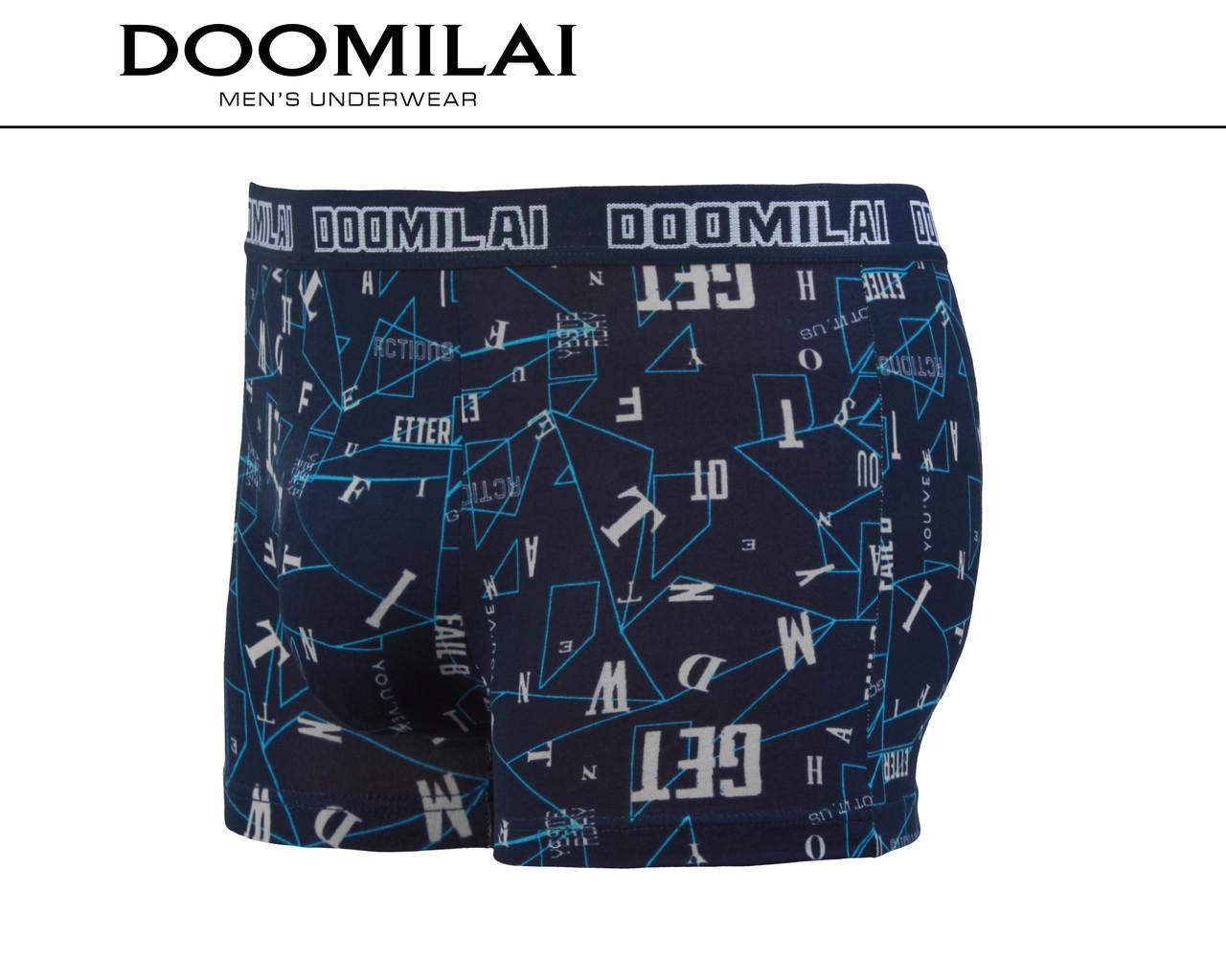 Мужские боксеры стрейчевые из бамбука  Марка  «DOOMILAI» Арт.D-01303