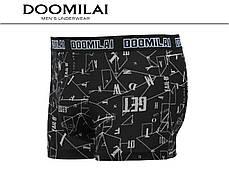 Мужские боксеры стрейчевые из бамбука  Марка  «DOOMILAI» Арт.D-01303, фото 2