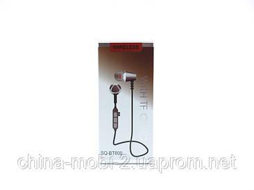 SQ-BT800 бездротові bluetooth-навушники з мікрофоном, рожеві