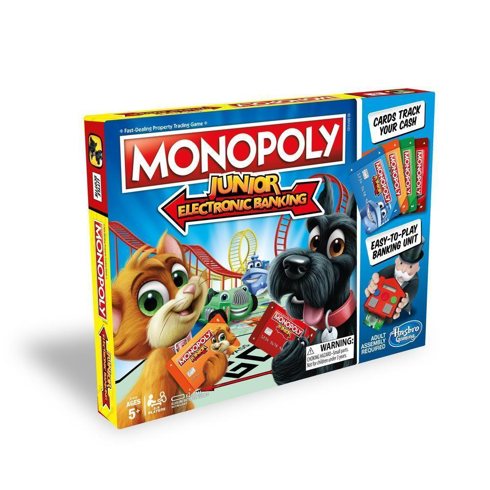Настольная игра Hasbro Моя первая Монополия с банковскими картами (E1842)