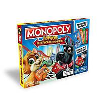 Настольная игра Hasbro Моя первая Монополия с банковскими картами (E1842), фото 1