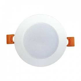 Светодиодный светильник ALEXA-8 8W 4200K кругл. бел. Код.59654