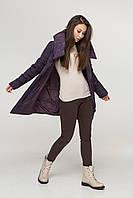 Катрин пуховик (темный фиолет), фото 1