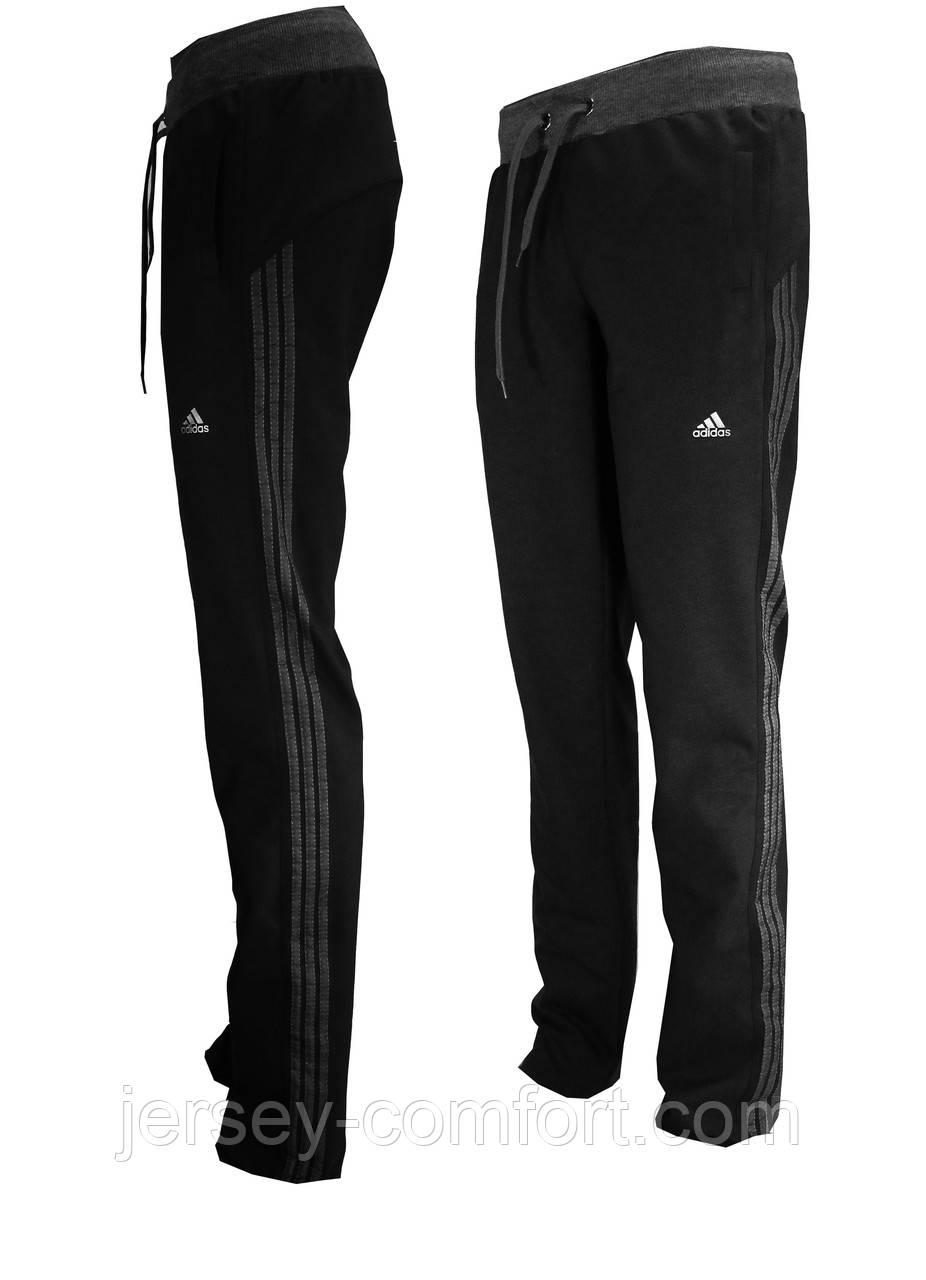 Спортивные брюки женские трикотажные черные