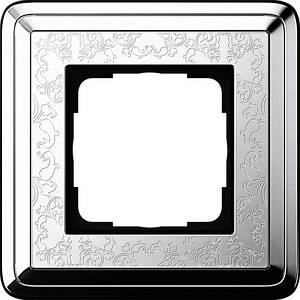 Gira 0211681 Рамка установочная 1 пост Gira ClassiX Art хром